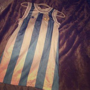 Adidas Original Argentina World Cup tank dress